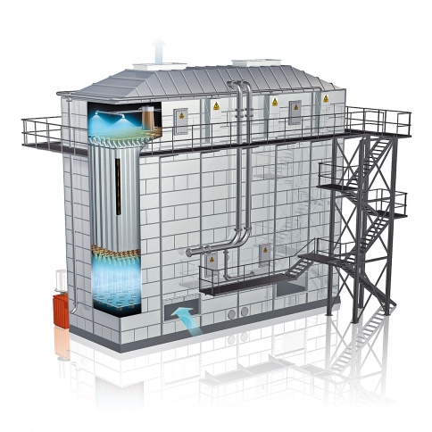 BETH Wet-Electrostatic Precipitator